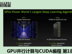 GPU并行计算与CUDA编程 视频教程